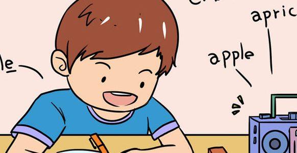 三岁小孩怎么学英语呢_学习
